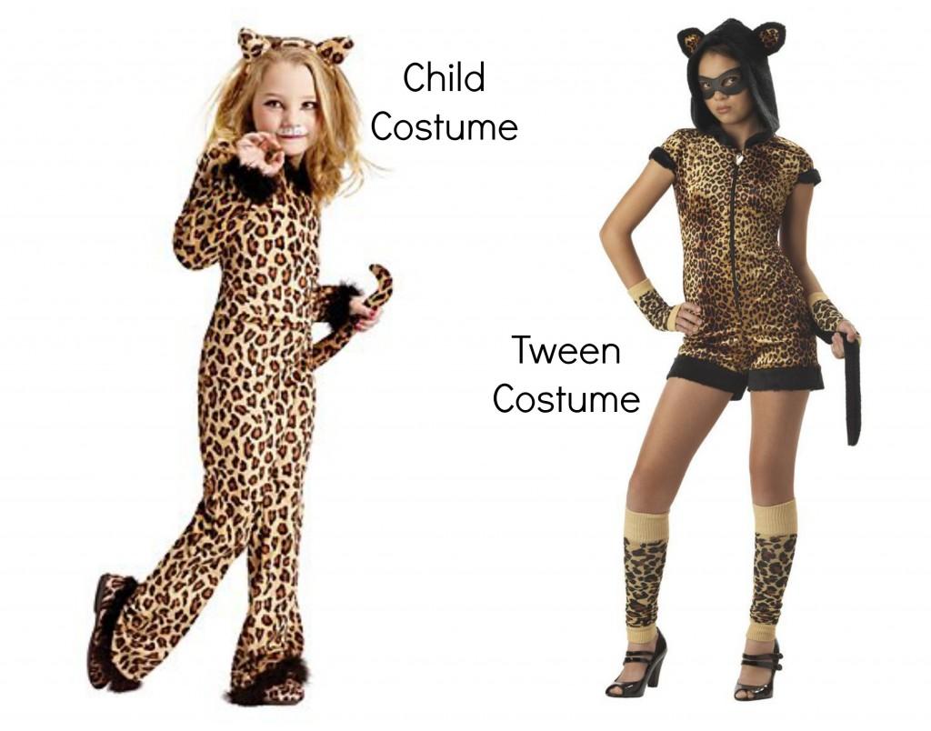 alta moda a buon mercato scarpe da corsa Sessualizzazione del fanciullo: Costumi di Halloween sexy per ...