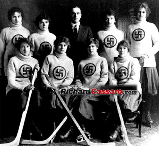 Edmonton-Swastikas