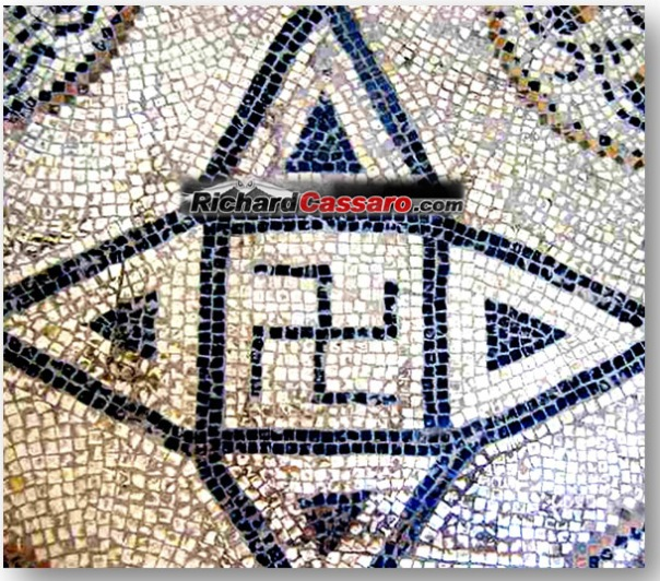 Swastika-on-Roman-Mosaic