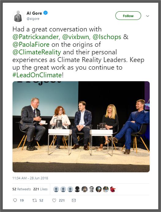 """new styles a2195 c41e0 Il tweet """"una ragazza di 15 anni"""" è stato poi re-tweetato da Paola Fiore,  fondatrice e CEO di ETICAMBIENTE® Sustainability Management    Communications ..."""
