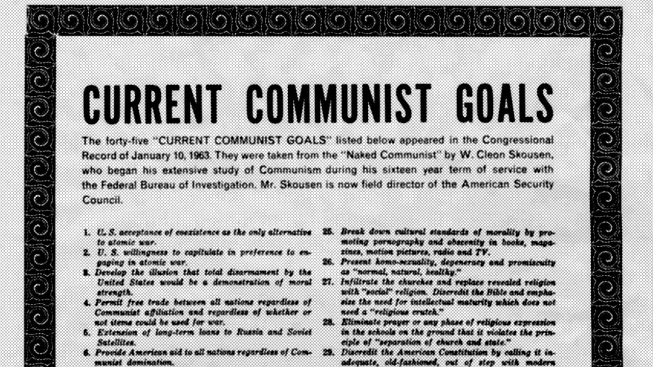 currentcommunistgoals